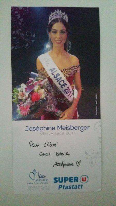 Dédicace de Joséphine Meisberger !