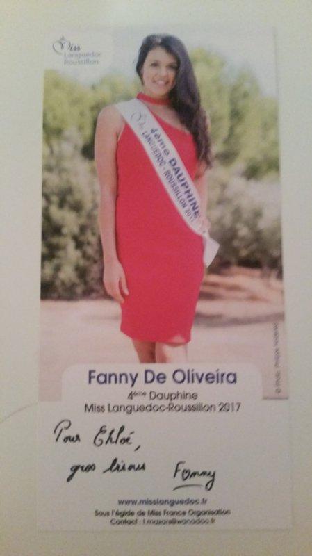 Dédicace de Fanny De Oliveira !