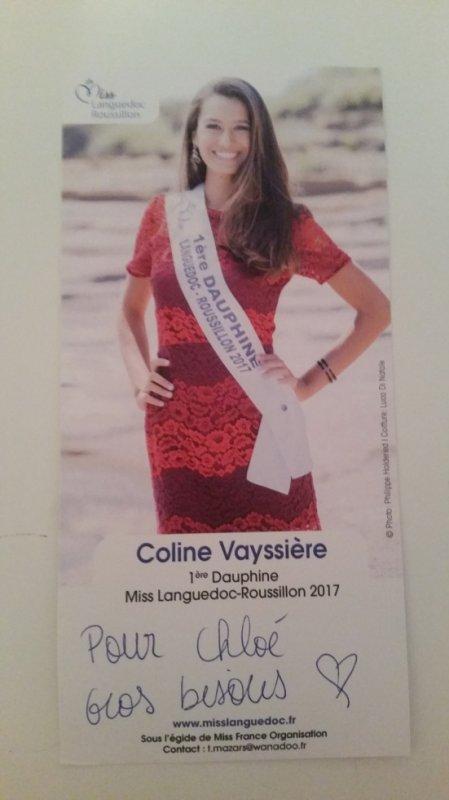 Dédicace de Coline Vayssière !