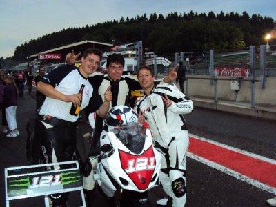 L'arrivée aux 6h de Spa Francorchamps...