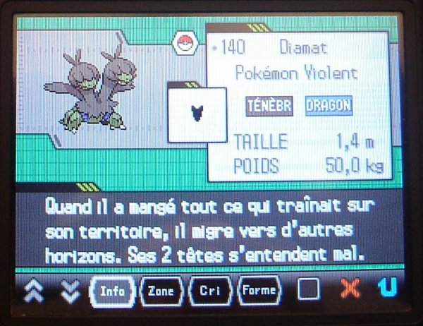 pokedex shiney diamat