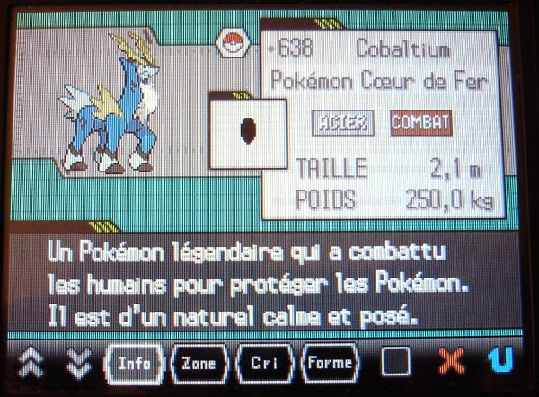 Le pokedex shiney
