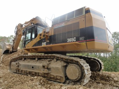 Caterpillar 365c climent t-p