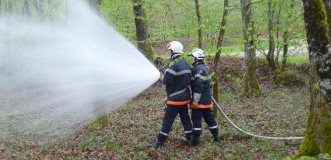 Sapeur Pompier Volontaire => 01.12.12 à aujourd'hui