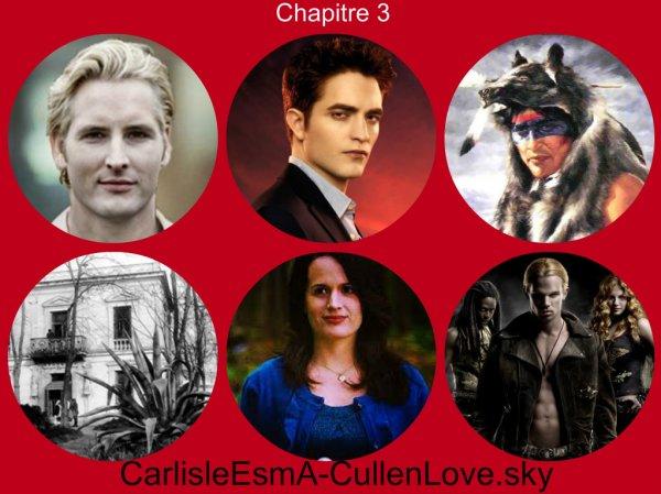 Chapitre 3 Trois vampires à Forks non connue