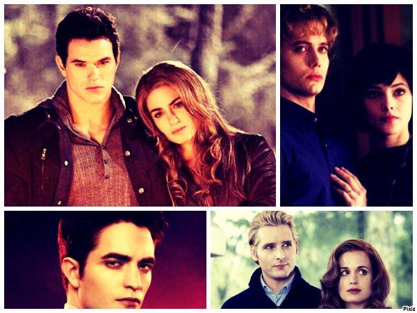 Chapitre 6 Les Cullen accueil Alice et Jasper et puis Rosalie et Emmett