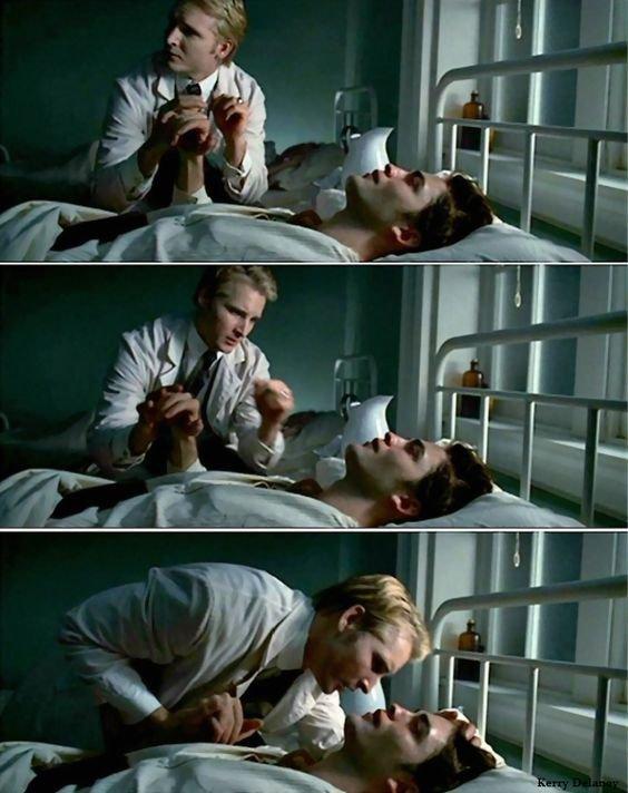 Carlisle et Edward Cullen