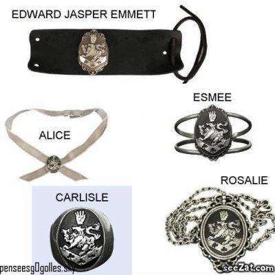 Les bijoux des Cullen