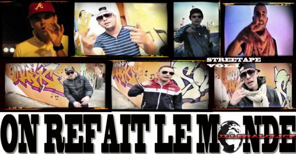 streetape on refait le monde / la musique feat CAROLINE COSTA  (2013)