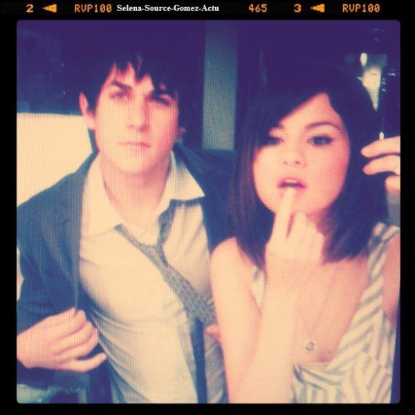 Photos personnel de Selena Gomez sur son Twitter .