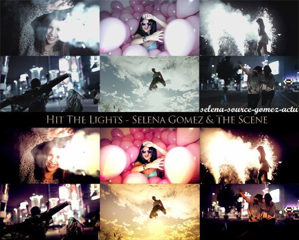 16/11/11 la nouvelle chanson de Selena Gomez & The Scene  Hit The Lights + photos