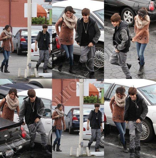 Le 17/02/12-Justin & Selena Gomez ont été photographiés lorsqu'ils se rendaient le 16 Février à IHOP pour y prendre un déjeuner.
