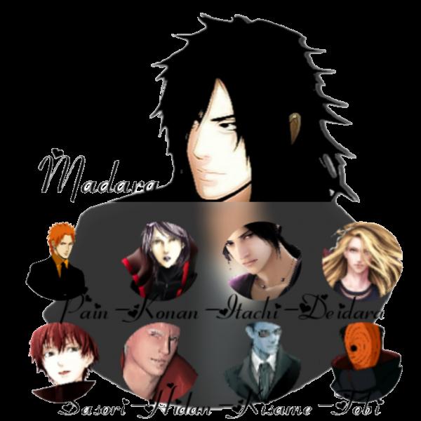 Les personnages ( En cours )