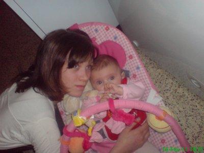 ma fille marine et ma petite fille shelsey