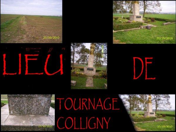 Colligny un nouveau lieu de tournage
