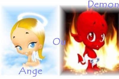 Je suis plutot Ange ou Démon