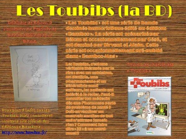Article sur le série de BD les Toubibs