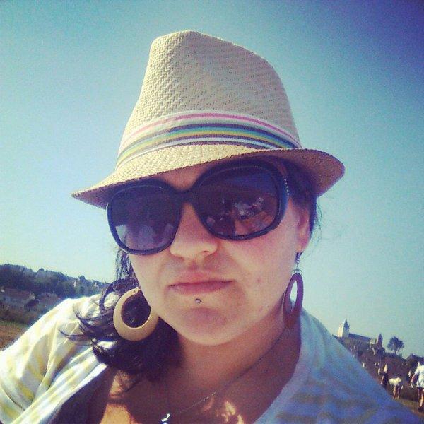 Aprém avec doudou a la plage!!! Trop bien...