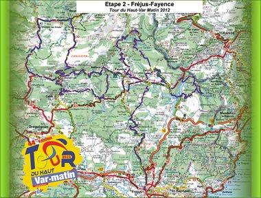 TOUR DU HAUT VAR 2012 ETAPE 2