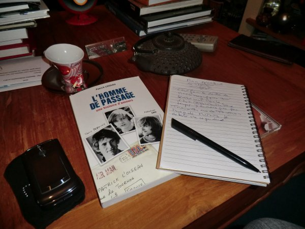 livre de patrick loiseau ....photo de ....moi !!