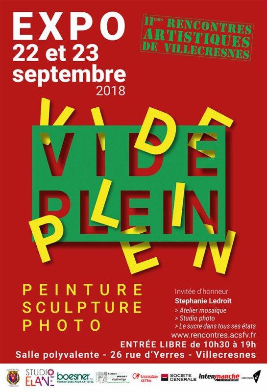 Rencontres artistiques de Villecresnes 2018