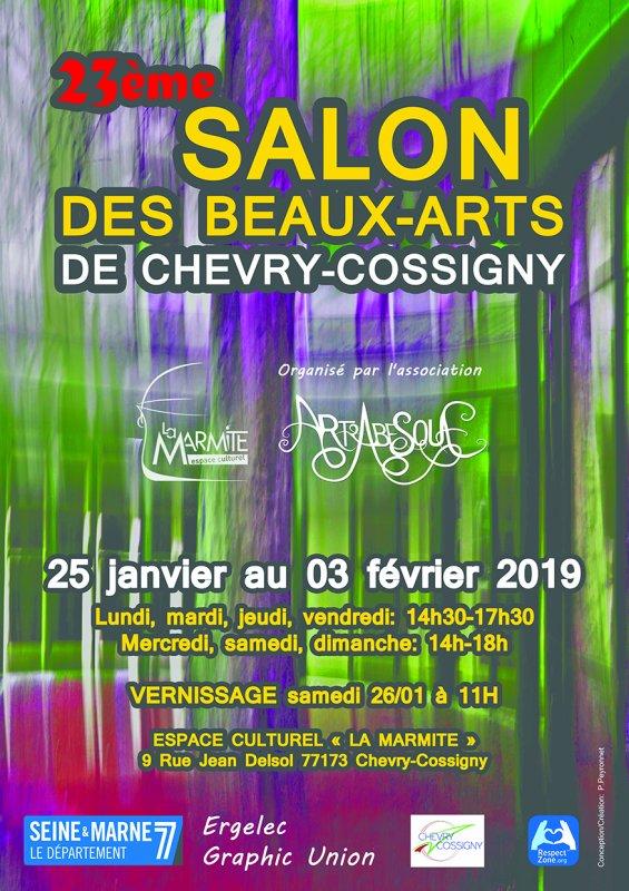 Salon des beaux arts de Chevry-Cossigny 2O19
