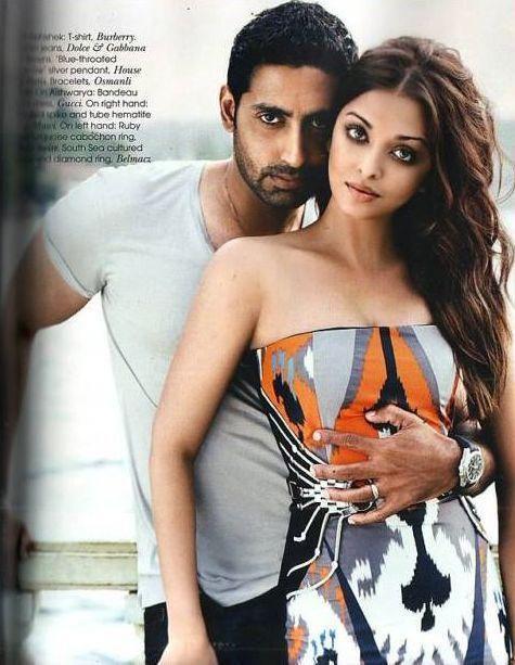 le plus beau couple aishwai rai et son mari