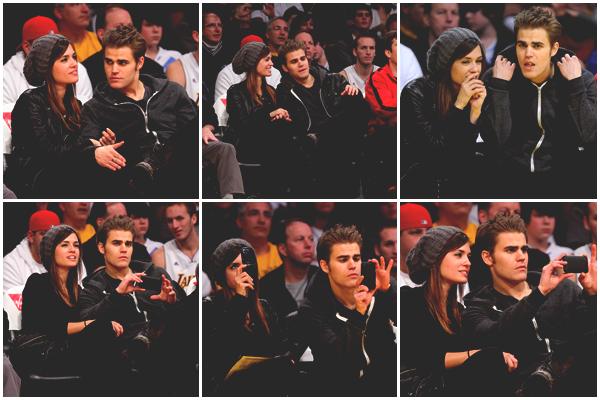 . Dimanche 2 Janvier 2011 Paul & Torrey ont assisté au match des Lakers à Los Angeles.  Ils ont l'air très amoureux et j'aime ça ♥