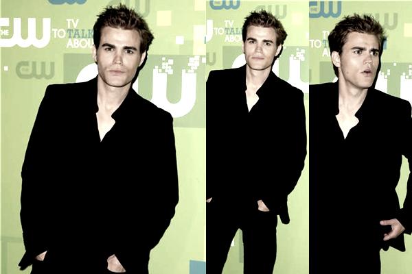 . Jeudi 19 Mai 2011 :  Paul, Ian & Nina étaient présent à l'événement annuel de la CW. Comme à son habitude, Paul était très classe dans son costume noir. Sans oublier son magnifique sourire qui nous fait toutes craquer ♥