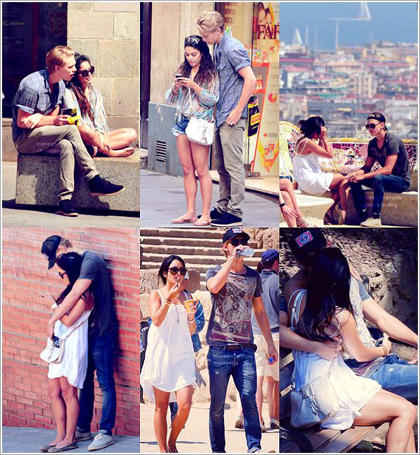 *     Découvrez plusieurs photos de mauvaise qualité de Vanessa et Austin dans Barcelone (ESP). + Nouvelles photos de Stella et Pia Mia posté sur Instagram.   *