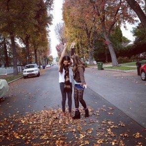 Deux nouvelles photos de Stella et Sammi posté sur Instagram!