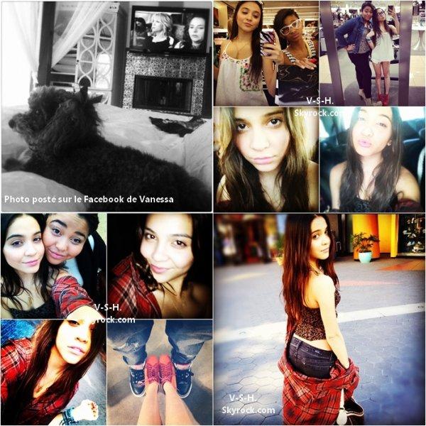 Nouvelles Photos personnelles : La toute première a été posté par Nessa sur son Facebook ; Les autres ont été posté par Stella sur son compte Instagram