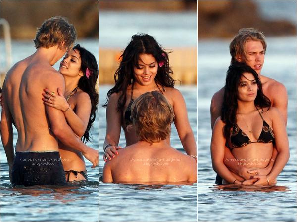 21/01/12 : Nessa et Austin s'éclatent toujours à Hawaii