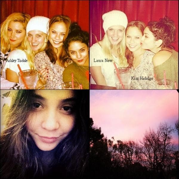Nouvelles photos personnelles de Vanessa (les deux premières) et de Stella (les deux dernières).