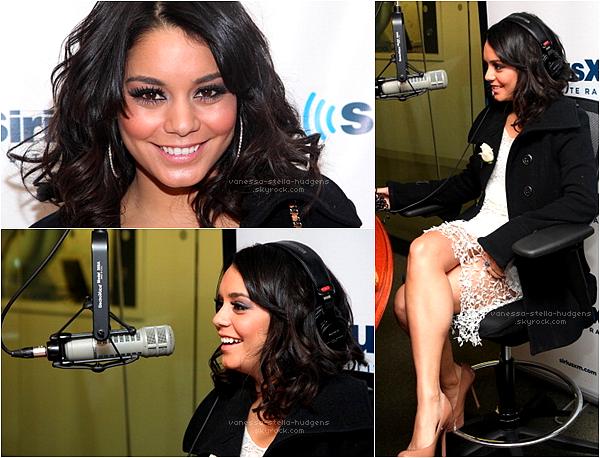 """*  08/02/12 : Juste après l'enregistrement de """" Live With Kelly """" , Vanessa s'est rendu à la """" Sirius XM Radio Show """" puis à la """"Covino & Rich Radio Show """" toujours à New York pour la promo de The Journey 2.     *"""