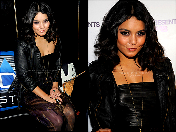 *    09/02/12 : Vanessa assistant à l'After Party de Leila Shams à New York     *