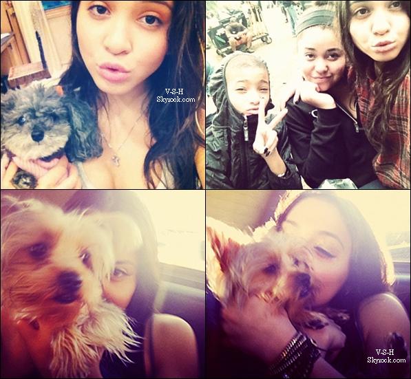 *  Nouvelles Photos Instagram de Stella      + Découvrez une nouvelle photo de Vanessa et Josh provenant d'un shoot    *