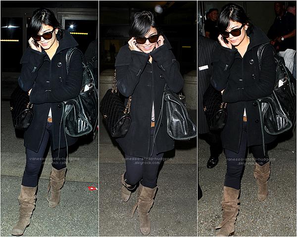 *   23/02/12 : Vanessa et Austin au LAX airport afin de rentrer chez eux.   *