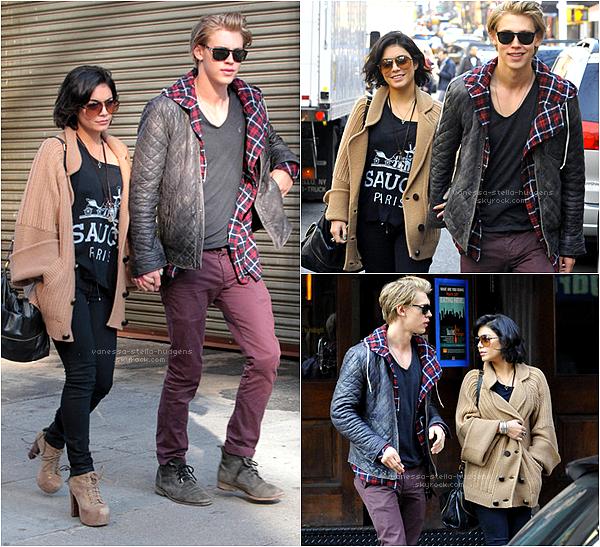 *   18/03/12 : Vanessa et Austin se baladant toujours dans New York.    *