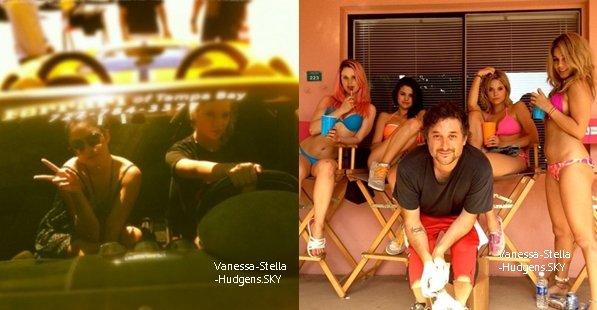 """*  21/03/12 : De nouveaux candids de Vanessa sur le set de """"SB"""" datant du 21 mars.  *"""