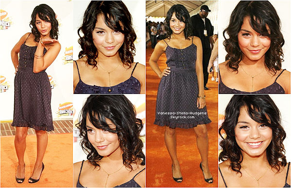 *  31 mars 2007 : Vanessa et Zac aux Kids Choice Awards 2007 à Los Angeles.