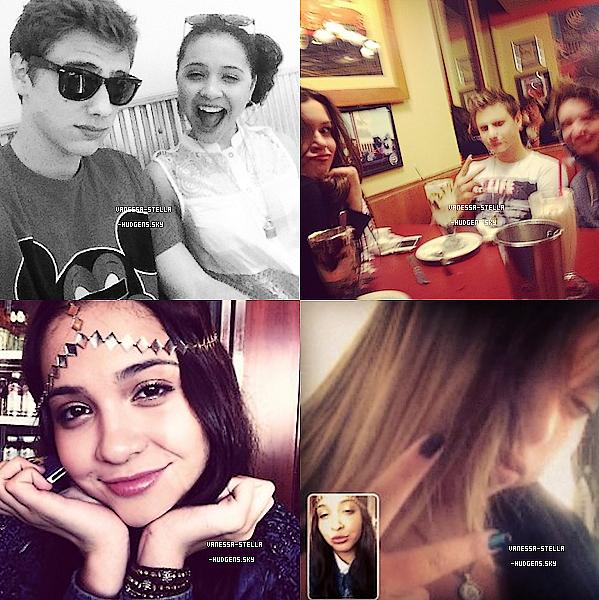 *    Nouvelles photos de Vanessa.H qui est toujours en Floride et 4 photos de Stella.H et ses amis. + Selena a finit de tourner ses scènes elle est donc rentrée à LA. Mais pour Vanessa et le reste de l'équipe, il reste encore une semaine de tournage.   *
