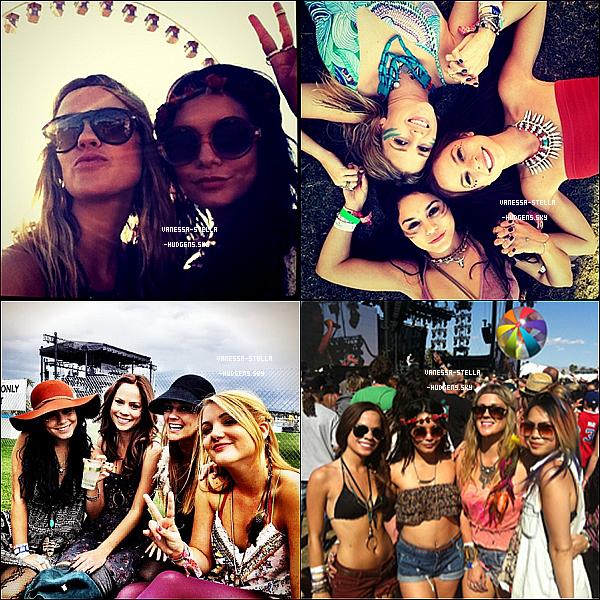 *   Découvrez les quatre dernières photos personnelles des filles à Coachella.   *