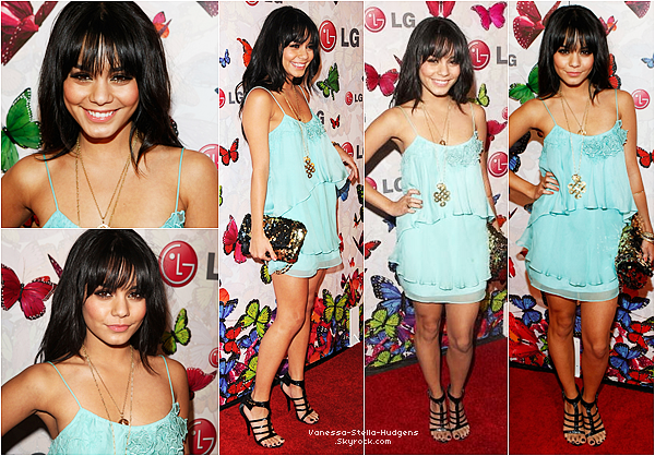"*   28 avril 2009 : Vanessa Hudgens, Ashley Tisdale, Brittany Snow et Ryan Rottman étaient aux "" LG Rumorous Night With Heidi Klum "" à Los Angeles."