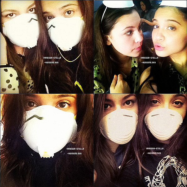 *   Stella Hudgens a posté trois nouvelles photos d'elle avec Sammi Hanratty sur son Instagram. Cela faisait longtemps qu'on avait pas vu Sammi ! Elle m'avait manquée !   *