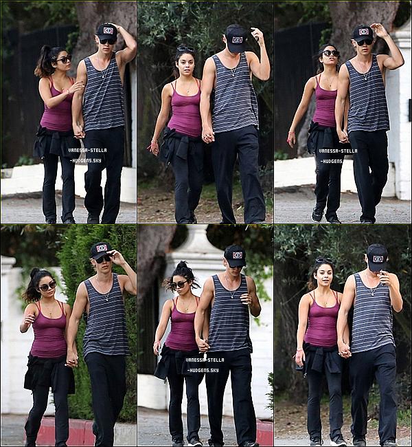 *    7 mai 2012 : Nessa et Austin en pleine randonnée dans Studio City.    *