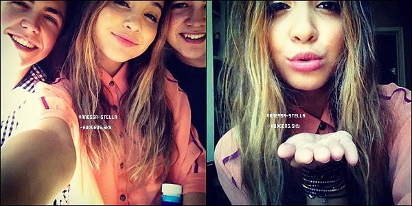 *    Stella a posté deux nouvelles photos sur Instagram dont une avec ses cousins.    *