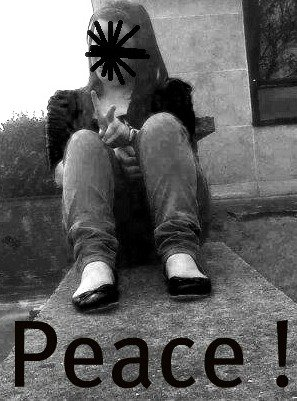 Sois peace , mes jamais love !