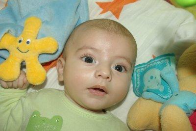 Raphaël, 3 mois: 62cm pour 6,060Kg