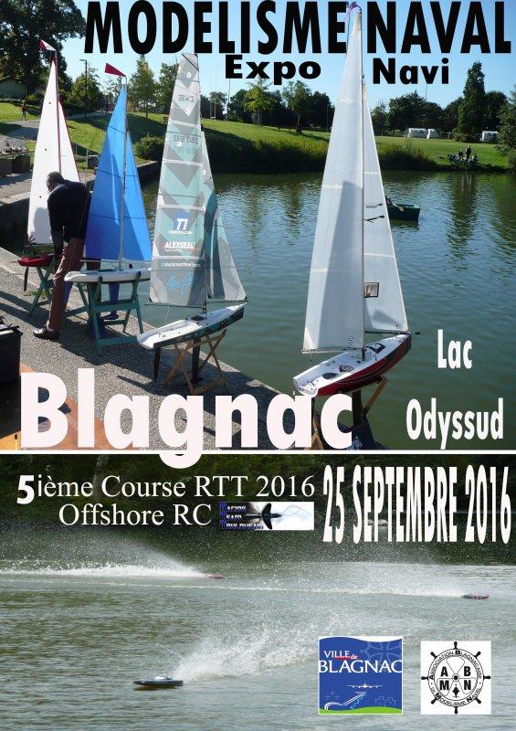 Affiches Course 5 Blagnac 25 septembre 2016